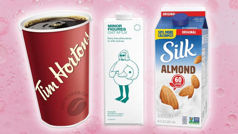 Tim Hortons Just Added Almond Milk to Its Menu