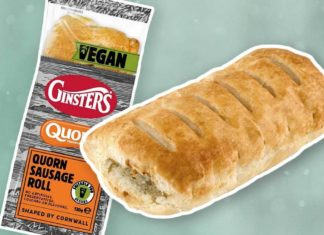 Ginsters Is Launching a Vegan Sausage Roll