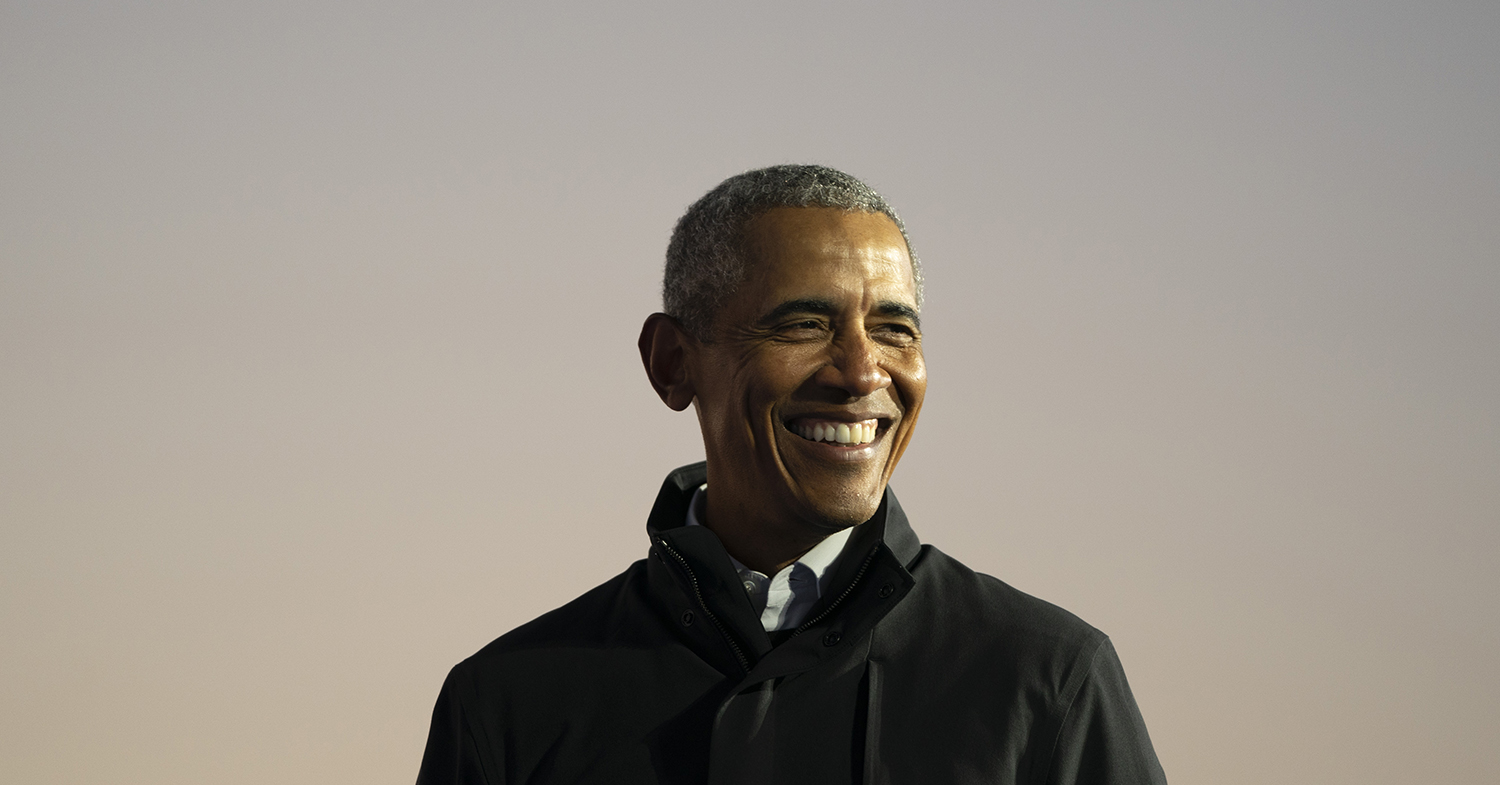 Barack Obama Says We Can't Deny the Climate Crisis Any Longer