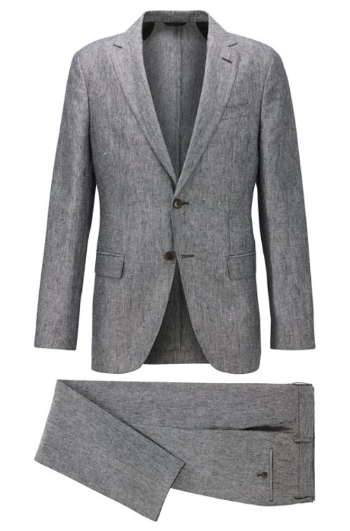 Hugo Boss Just Launched Its First Vegan Suit (It's Linen)