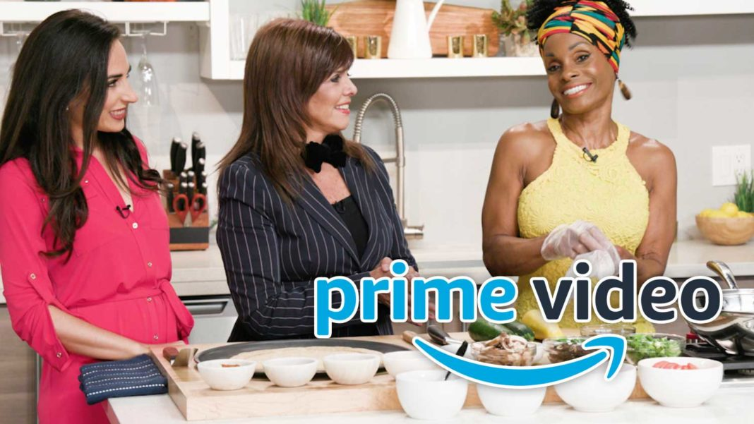 Amazon Prime Launches a Vegan Cooking Show