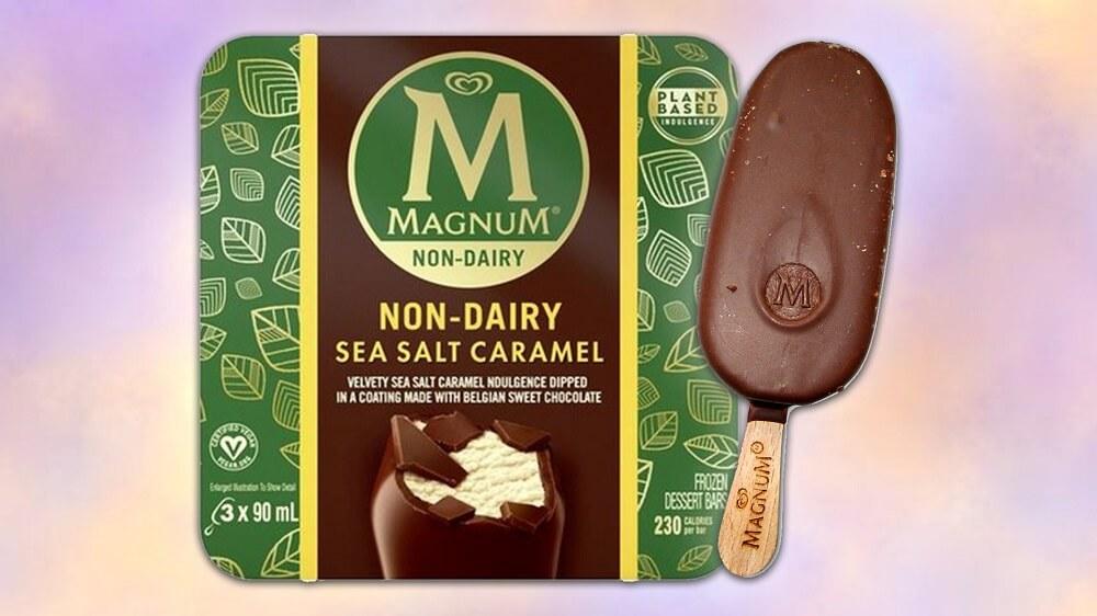 Magnum Has Now Launched Vegan Sea Salt Caramel Ice Cream