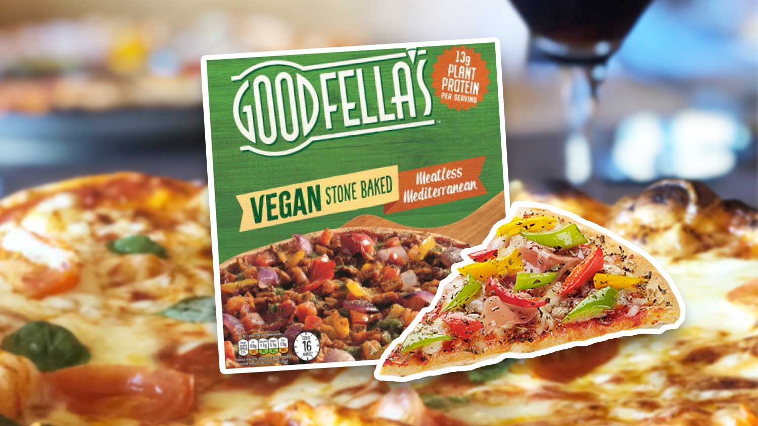 Goodfellas Just Launched a Meaty Mediterranean Vegan Pizza