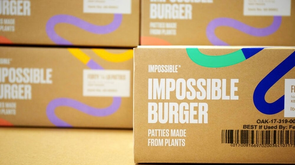 You Can Get 5-Pound Bricks of Vegan Burger Meat Delivered To Your Door