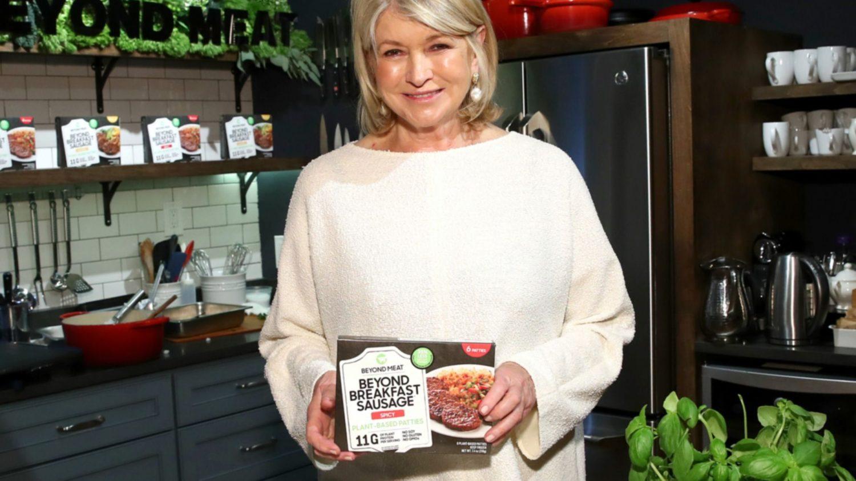 Martha Stewart Is Cooking Vegan During Quarantine