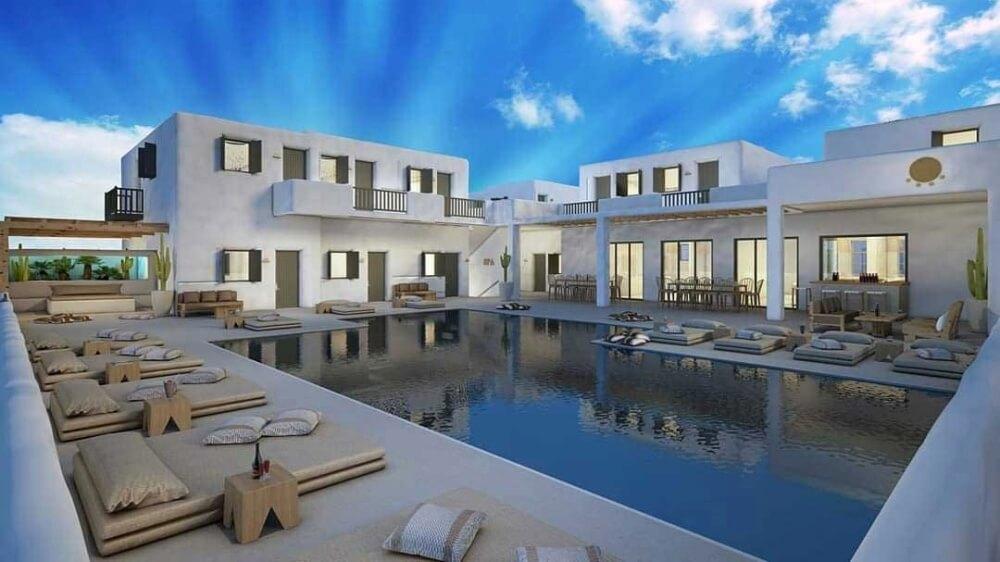 A Fully Vegan Hotel Is Opening In Mykonos, Greece