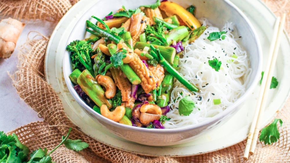 You Have to Make This Peanut Butter Veggie Stir Fry Recipe