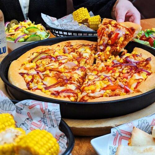 vegan menu pizza hut