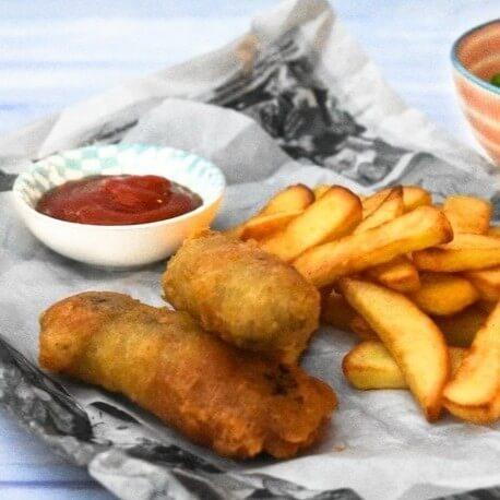 vegan fish and chips recipes