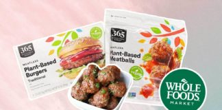 Whole Foods Is Selling Budget-Friendly Own-Brand Vegan Meatballs and Burgers