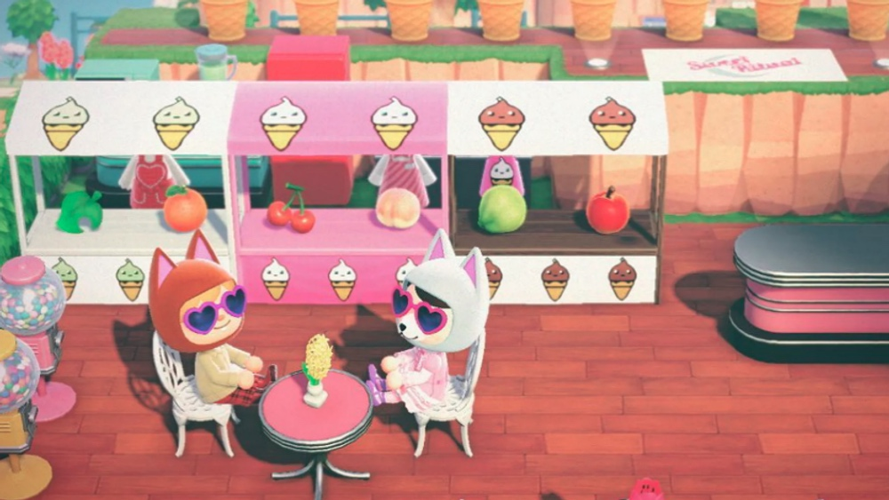 Animal Crossing Now Has a Vegan Ice Cream Shop