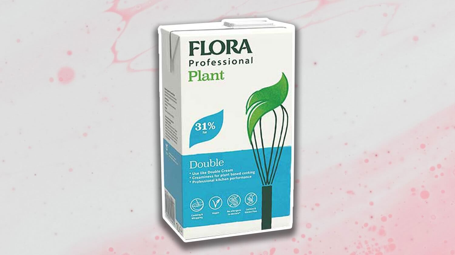Flora Is Launching Vegan 'Double Cream' Made From Fava Beans