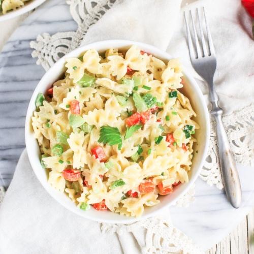 Serve This Vegan Macaroni Salad at Your Next Cookout
