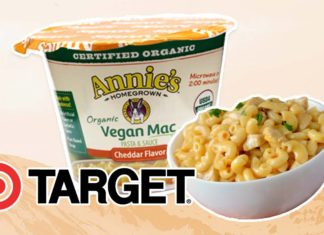 Target Just Launched Vegan Mac and Cheese Cups