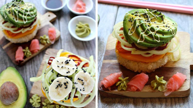 Top These Vegan Sushi Rice Patties With Edamame or Fried Tofu