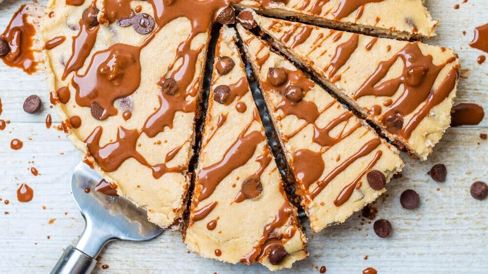 This Vegan Cookie Dough Dessert Can Be a Brownies or a Cake