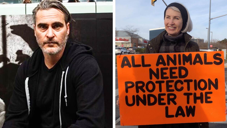 Joaquin Phoenix Honors Activist Killed At Pig Slaughterhouse