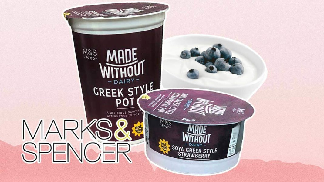Marks & Spencer Just Launched Vegan Greek Yogurt