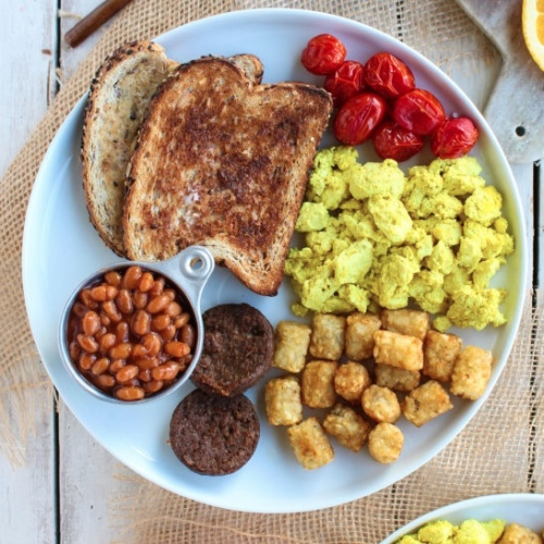 Make This Vegan Tofu Breakfast Scramble for Breakfast, Lunch, or Dinner