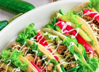 Make These Vegan Shawarma Tacos With Sumac Tofu