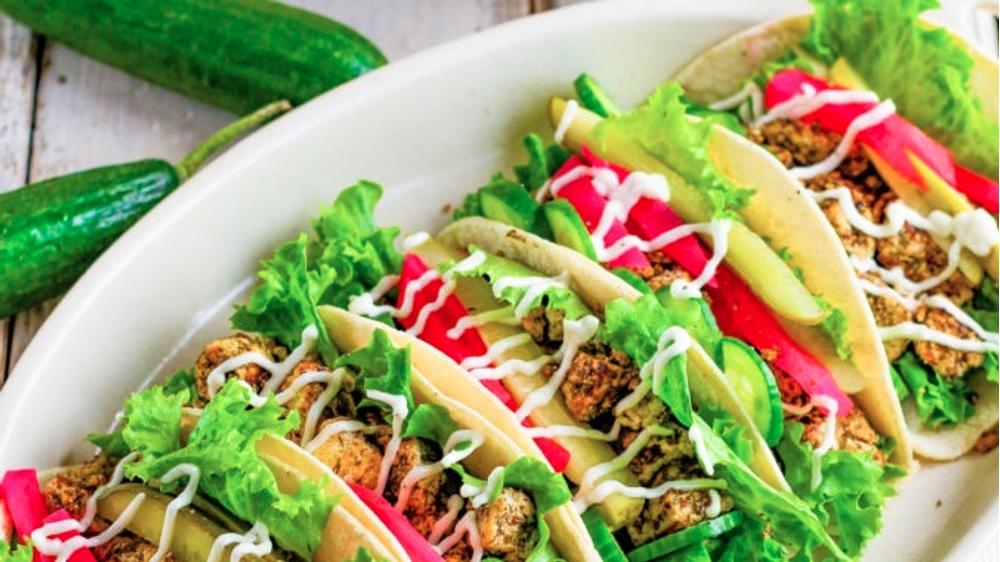 Make These Vegan Shawarma Tacos With Sumac Tofu
