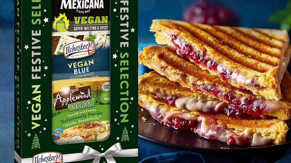 Applewood Is Launching a 3-Cheese Vegan Christmas Cheeseboard