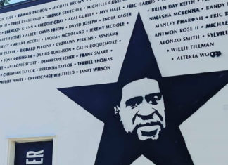 LA Vegan Restaurant Adds Mural for Black People Killed By Police
