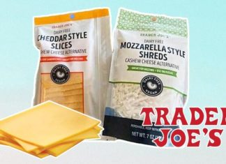 Trader Joe's Just Launched Vegan Cheddar and Mozzarella Slices