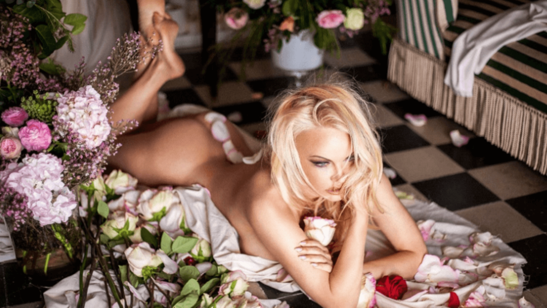 Pamela Anderson Gets Naked In New Vegan Handbag Ad