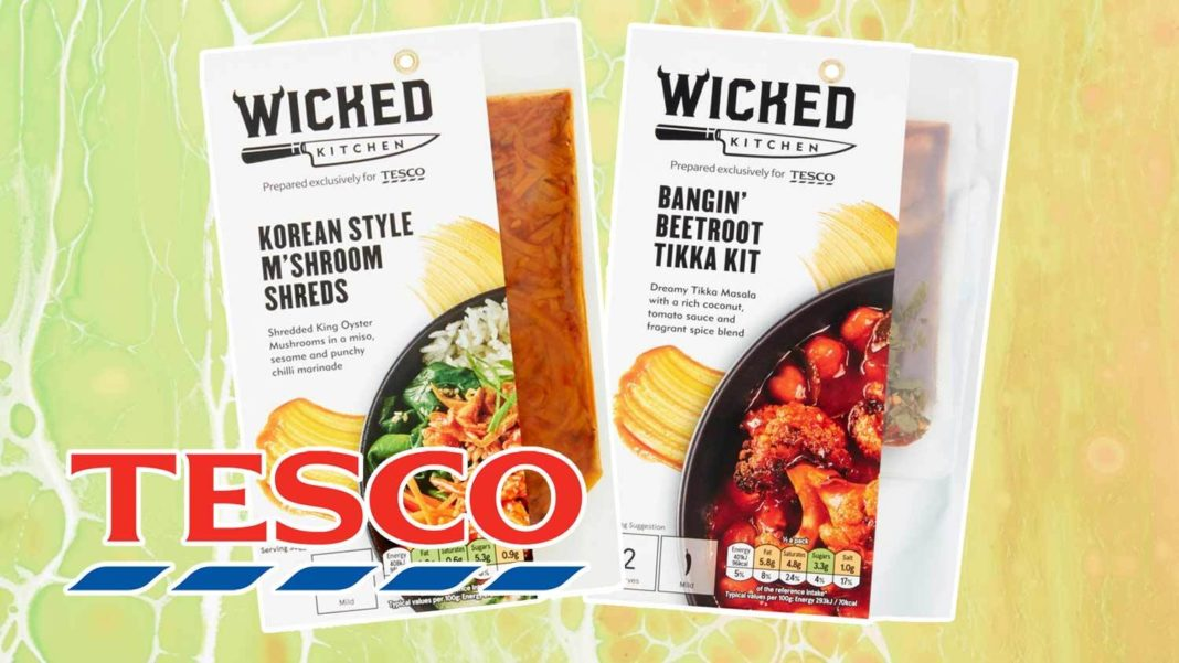 Tesco Expands Vegan Range With 15 New Meal Options