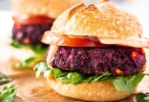 Grill Up These Vegan Homemade Black Bean-Beet Burgers