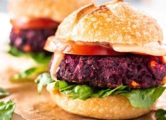 Grill Up These Vegan Homemade Black Bean-Beet Burgers