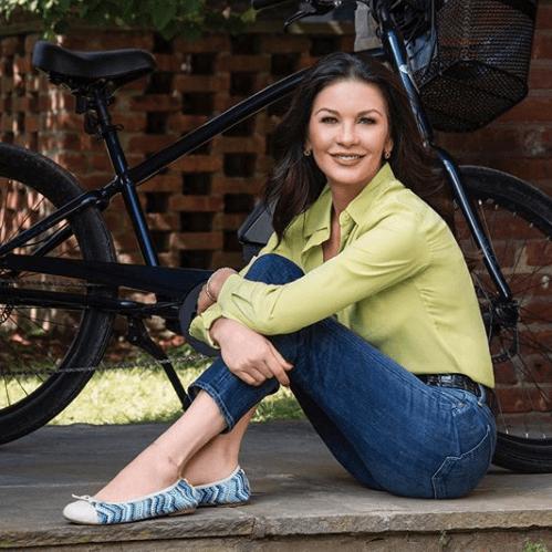 Catherine Zeta-Jones Is Launching Vegan Leather Shoes