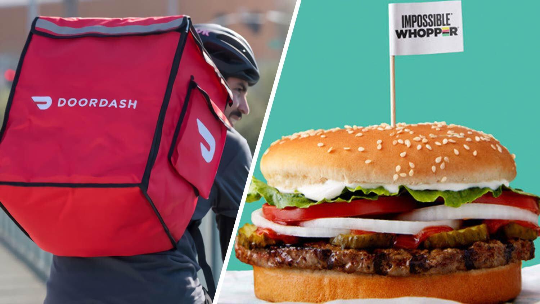 DoorDash's Vegan Burger Orders Have Increased 443%