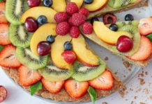 Top This Vegan Lemon Custard Tart With Seasonal Fruit