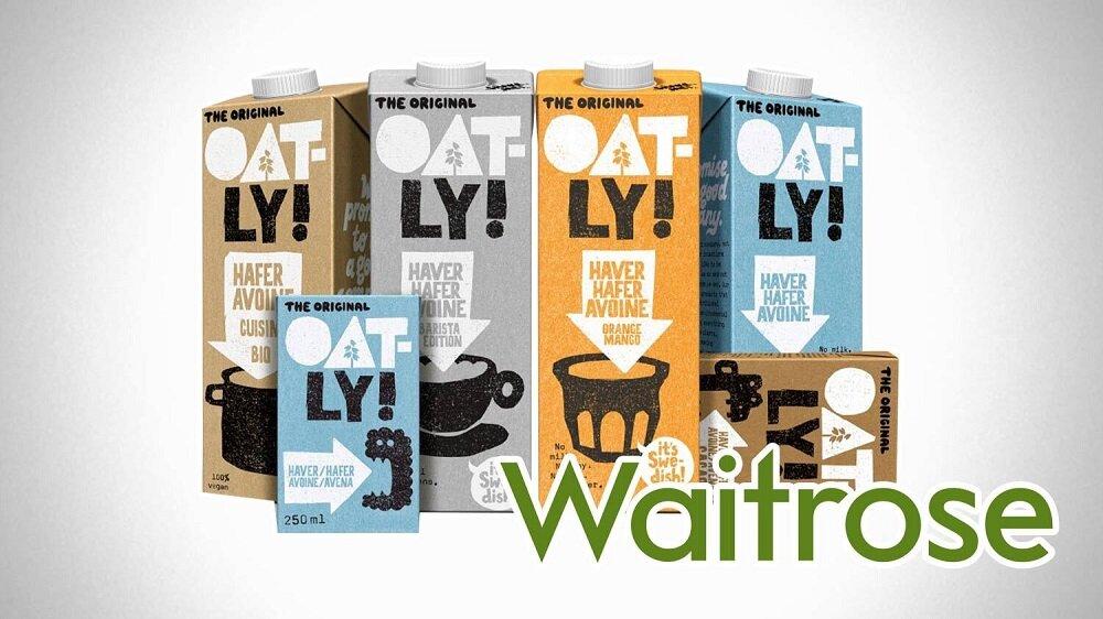 Oat Milk Sales Soar 113% at Waitrose