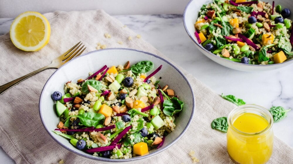 Load Up on Protein With These Vegan Quinoa Power Bowls