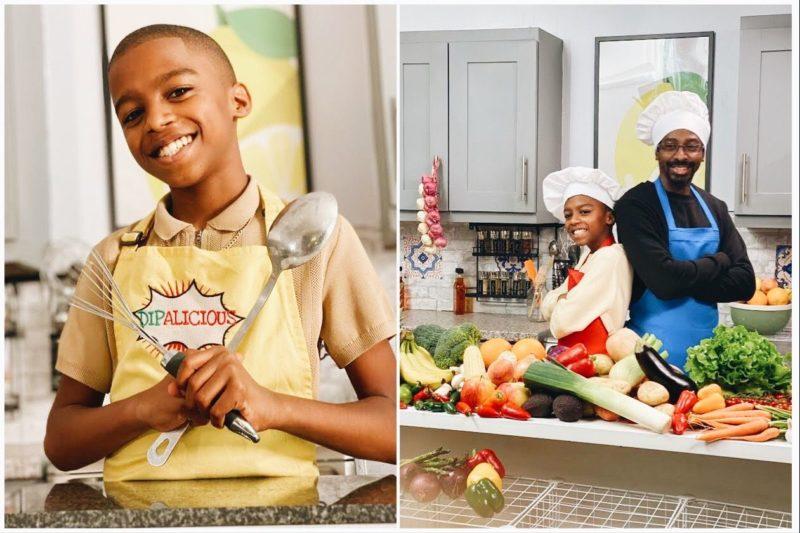 Vegan Cookbook Author at Age 12: Meet Omari McQueen