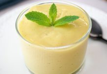 Vegan Lemon-Vanilla Soy Milk Custard With Fresh Fruit