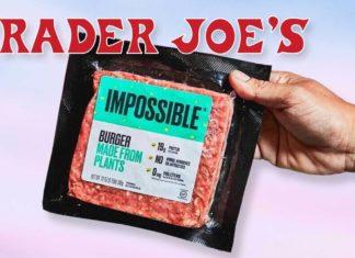 Impossible Burger Now at Trader Joe's