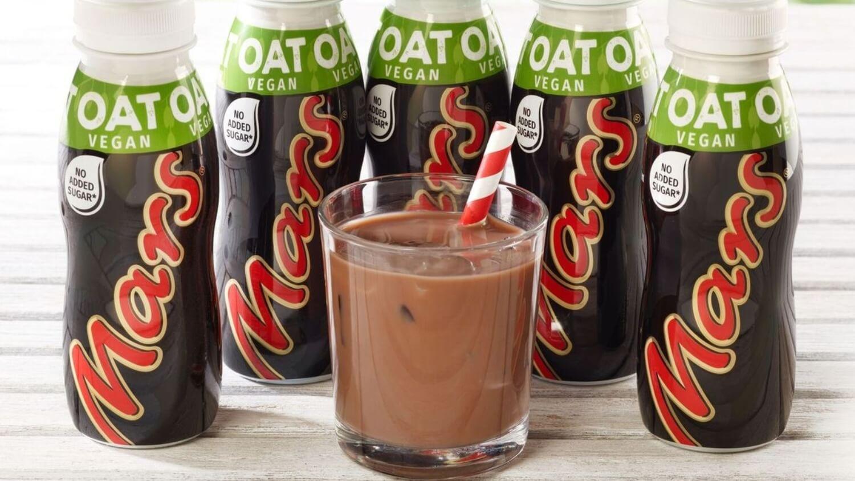 Mars Is Launching Vegan Chocolate Oat Milkshakes