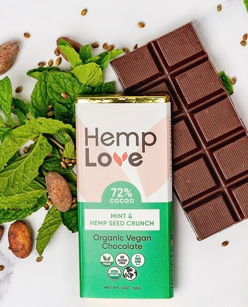 These Vegan Hemp Chocolate Bars Are Packed With Plant Protein