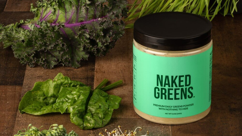 Struggling to Eat Your Greens? This Naked Nutrition Powder Can Help