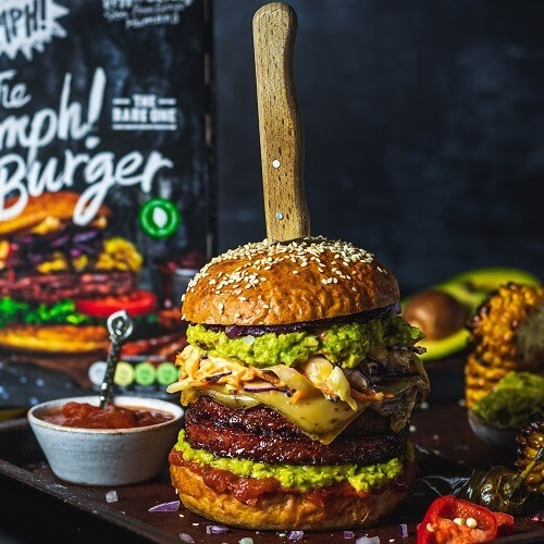 LEGOLAND Just Launched Vegan Burgers and Pulled Meat