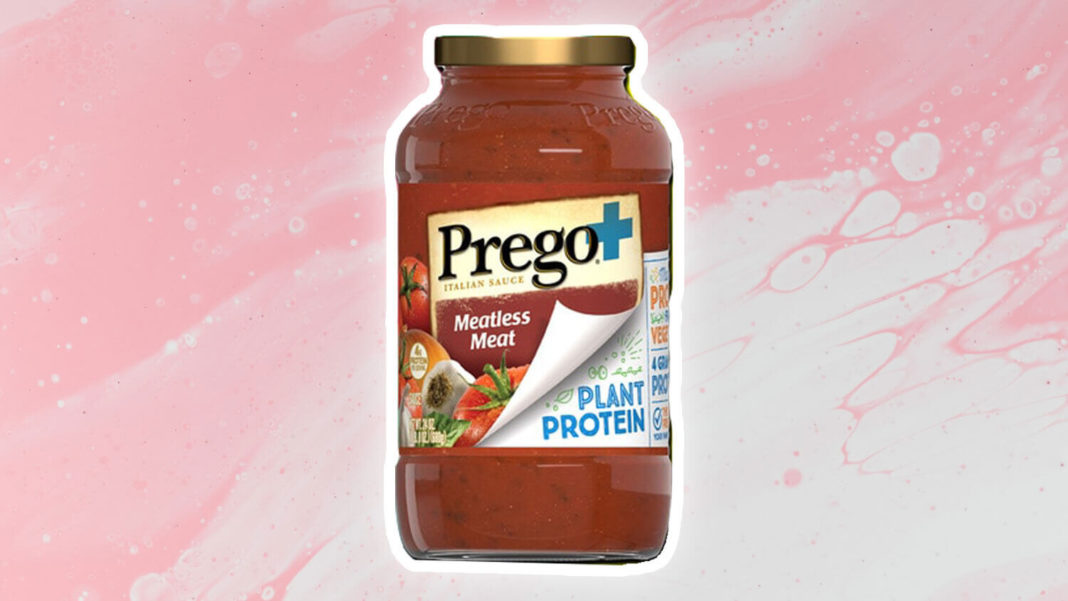 Prego Brings Vegan Meat to Its Pasta Sauces