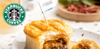 Starbucks Launches Rendang Pie With Vegan Impossible Meat