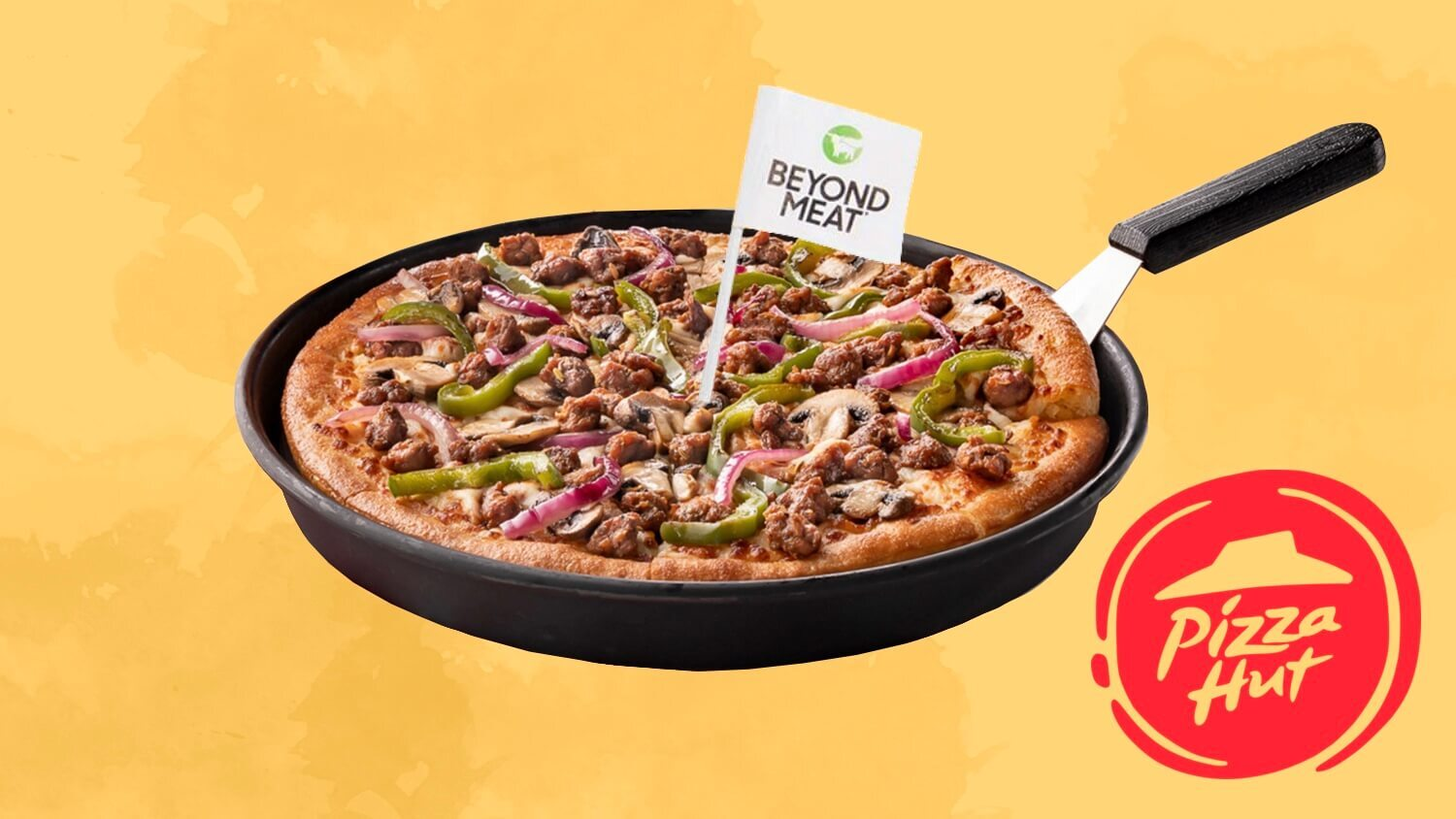 Now On the Pizza Hut Menu In Puerto Rico: Beyond Meat Sausage
