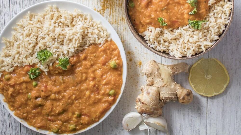 Make This Indian-Inspired Vegan Red Lentil Dhal for Dinner