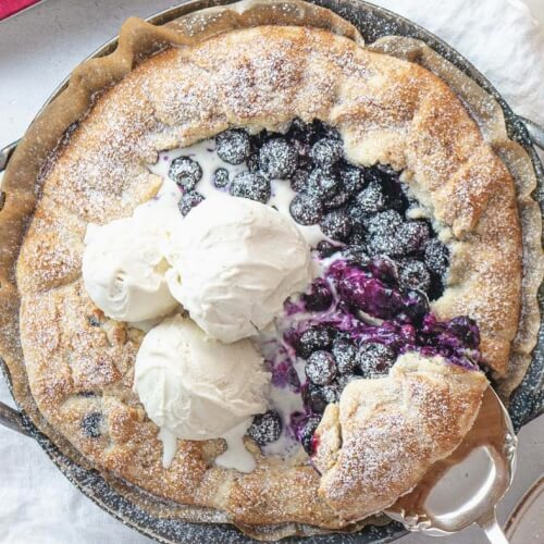 Better Than Pie? This Blueberry Galette Comes Close