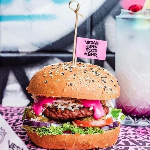 Amsterdam's Vegan Junk Food Bar Is Going Global
